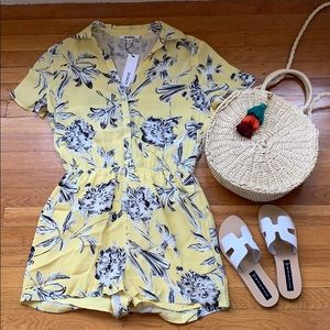 BB Dakota Button Front Romper